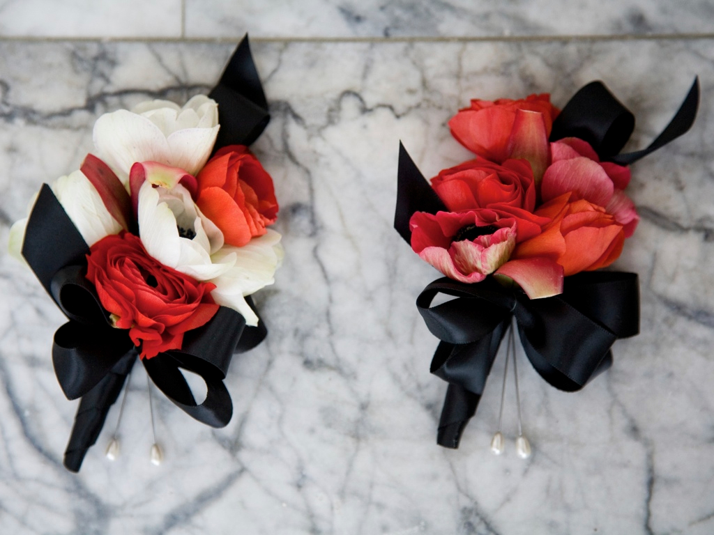 Red Black White Wedding Favorite Of 2011 CALIE ROSE