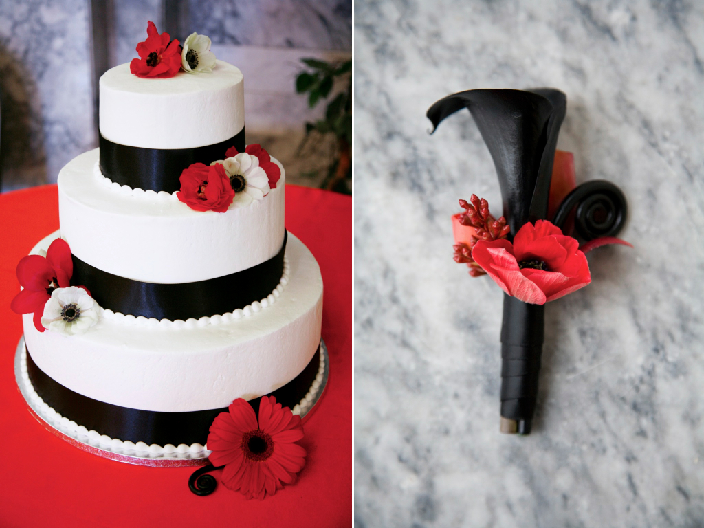 Red And Black Wedding Cake Designs Wedding Invitation Sample