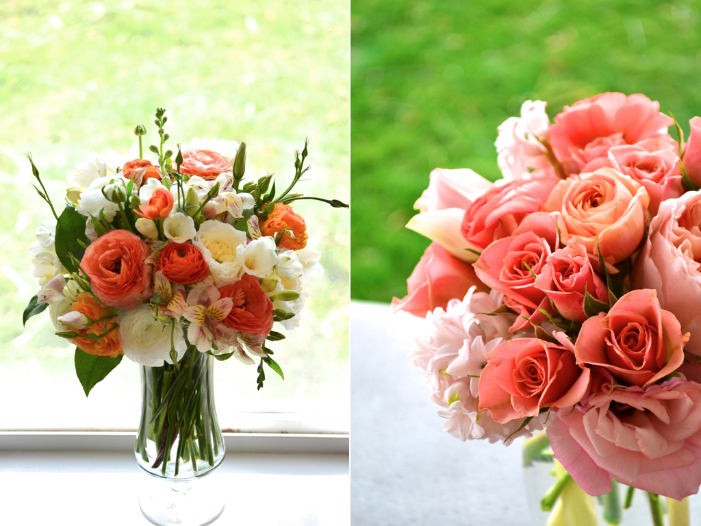 coral flower arrangements » calie rose, Beautiful flower