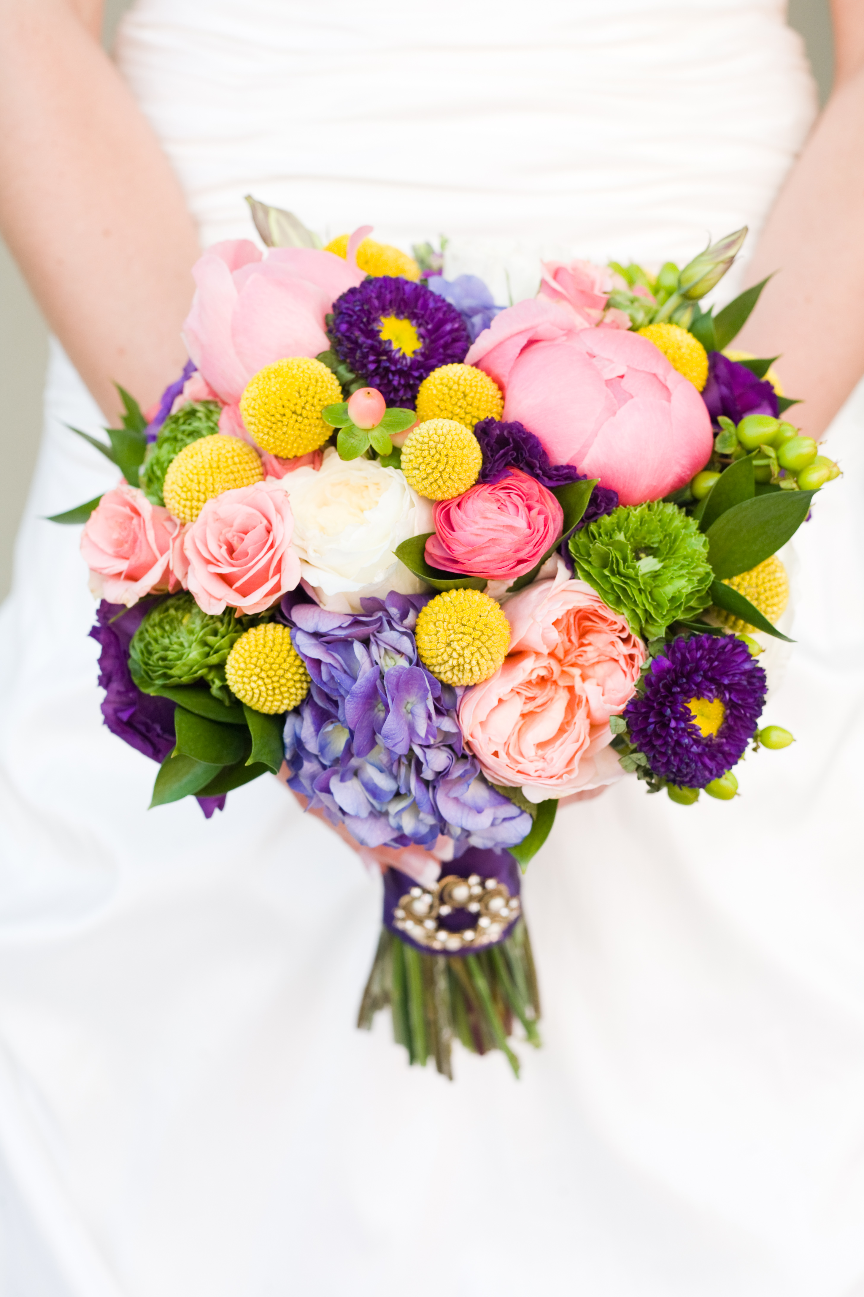 Calie rose wedding flowers utah coral peach yellow green purple wedding bouquet utah wedding flowers calie rose mightylinksfo