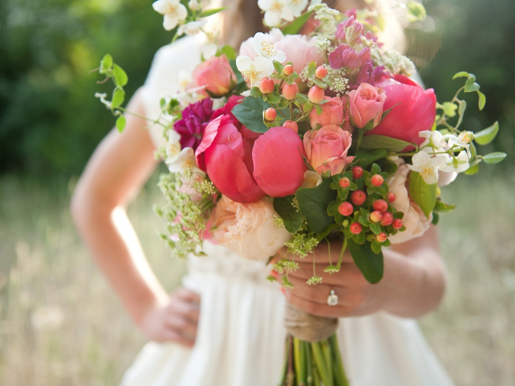 Coral Peony Wedding Bouquet Utah Flowers Calie Rose