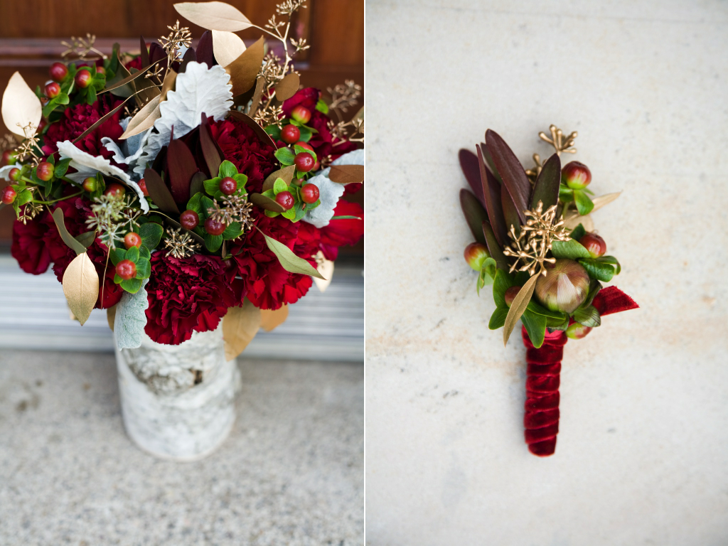 Sneak Peak of Chelsea + Brett\'s Rustic Wedding Flowers » CALIE ROSE