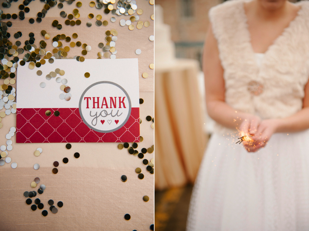 gold silver confetti wedding invitation wedding sparklers