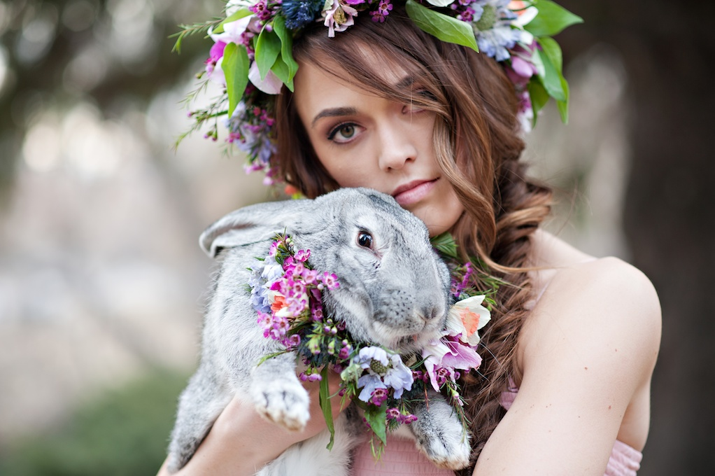 easter bunny flower wreath utah wedding florist calie rose