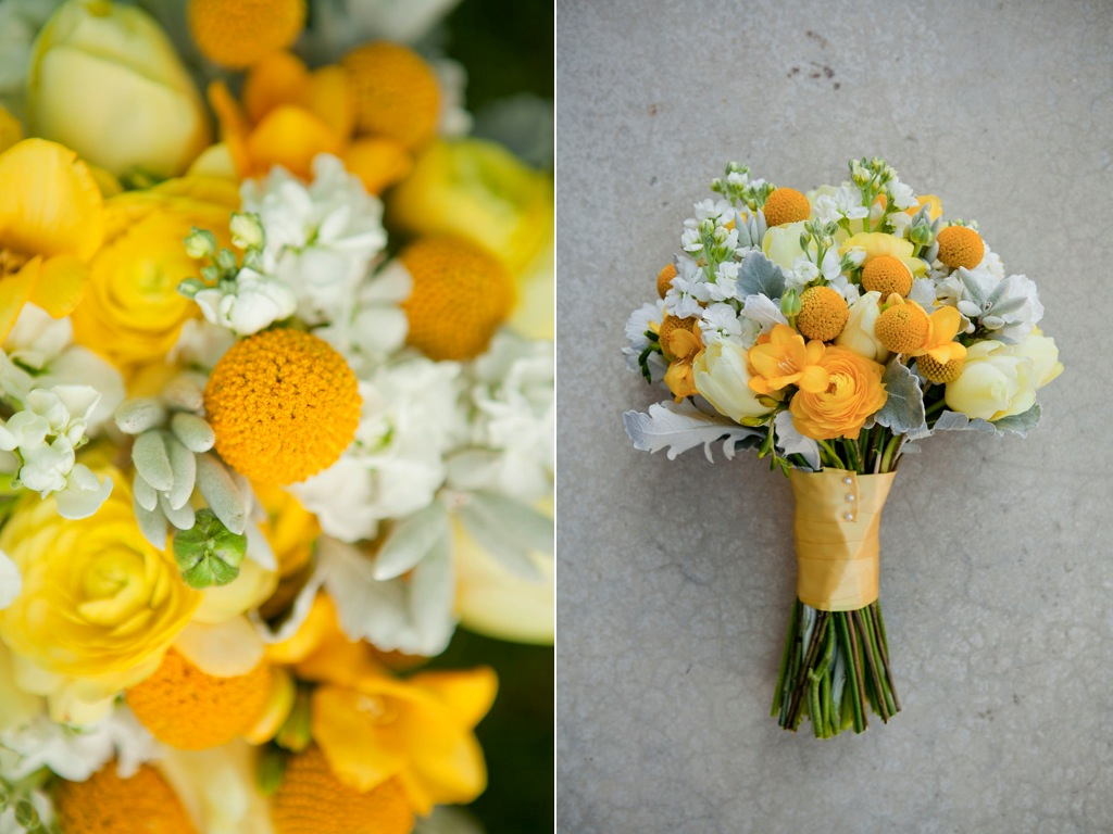 Sunshines Yellow Wedding Bouquet Utah Wedding Florist Calie Rose