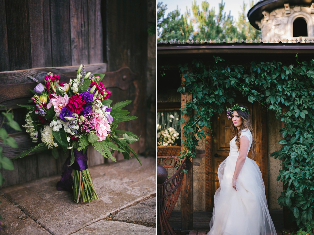 A Pretty Flower Halo + Juicy Lighting at Wadley Farms ...