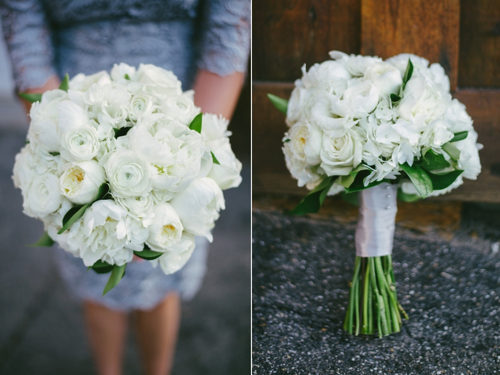 Classic White Wedding Flowers Utah Calie Rose