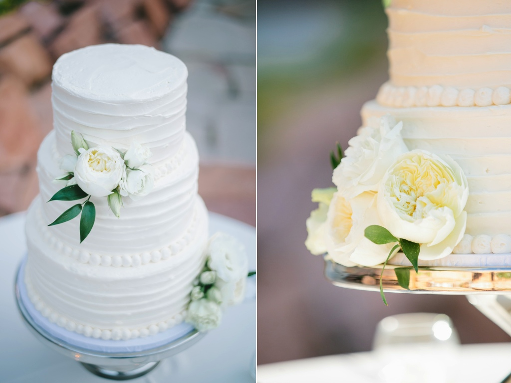 Sierra Spencer's Classic White Wedding Flowers at