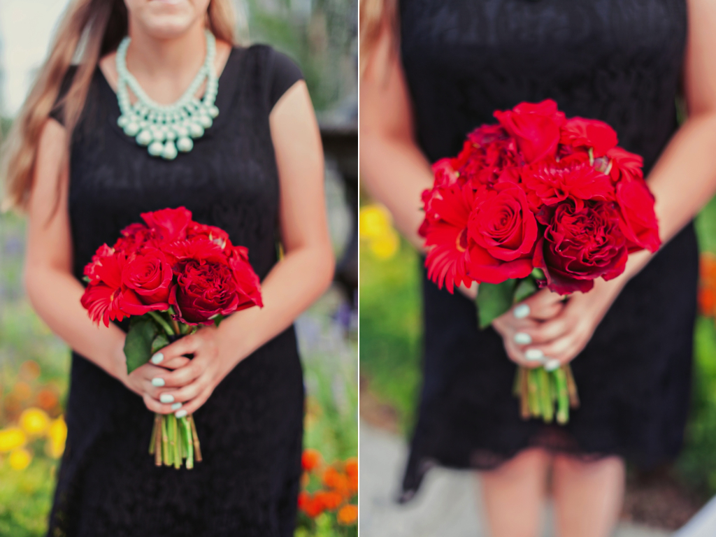 classic red rose bouquet utah wedding florist calie rose