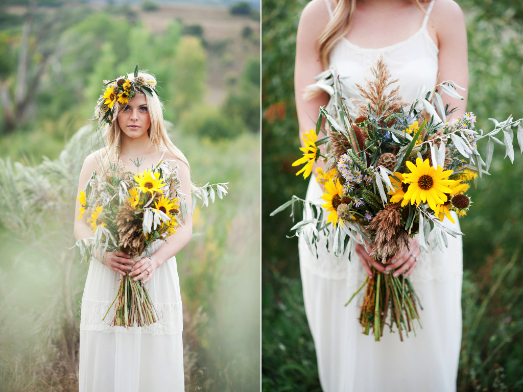 Desert inspired sunflower wedding featured on peter loves jane sunflower desert inspired wedding flowers utah calie rose kristina curtis photography utah wedding photography junglespirit Image collections