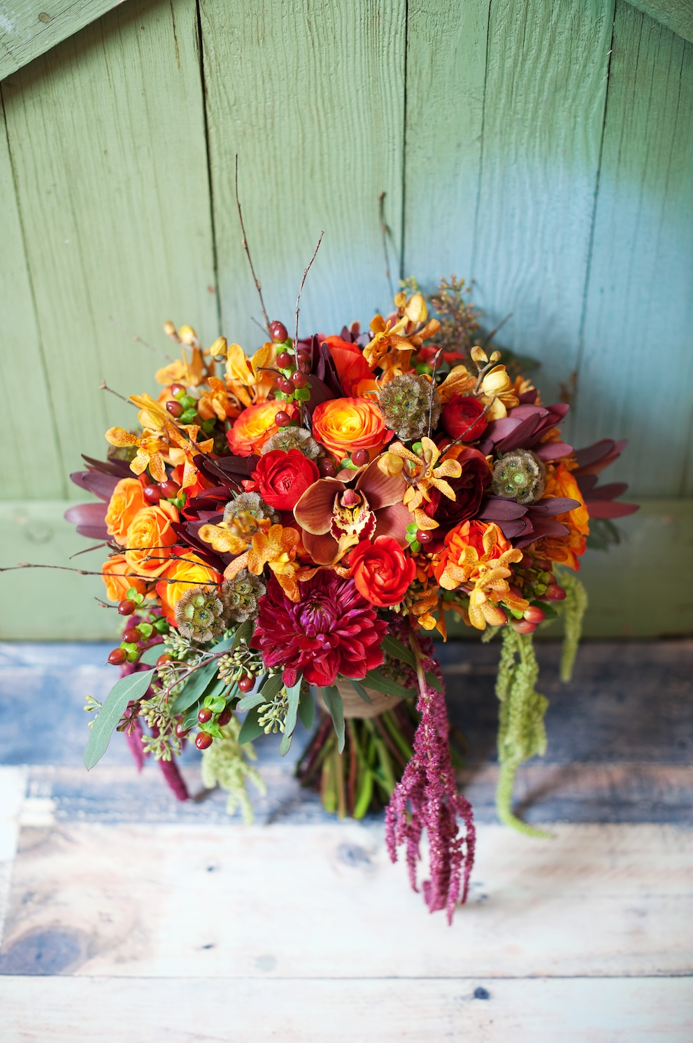 utah wedding florist calie rose fall inspired wedding flower bouquet kristina curtis photography