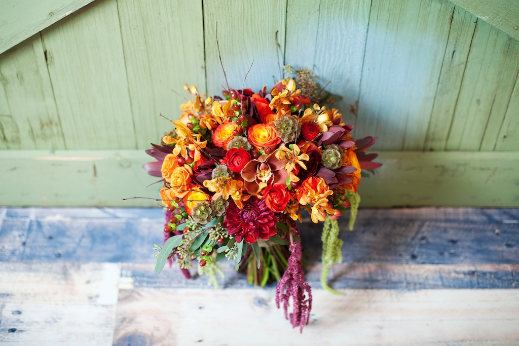 bright rustic fall wedding bouquet utah florist calie rose