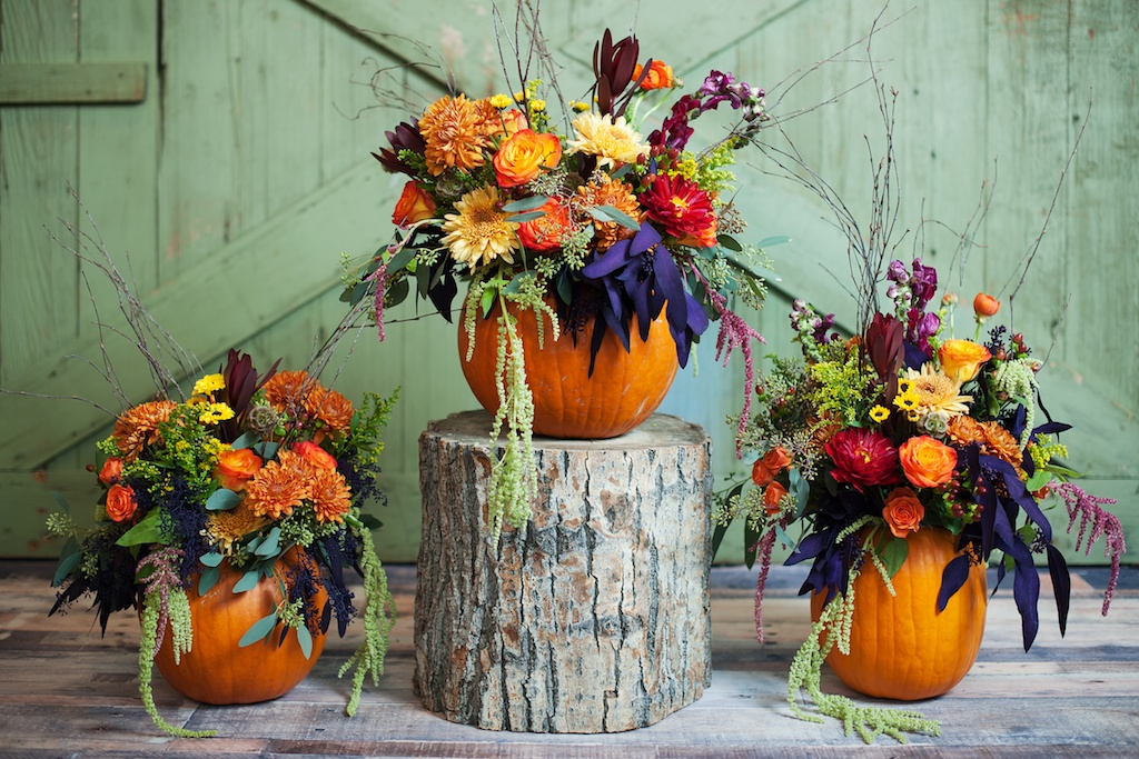 Pumpkin inspired fall wedding thanksgiving centerpieces utah utah wedding florist calie rose pumpkin centerpiece pumpkin thanksgiving centerpieces kristina curtis photography junglespirit Choice Image