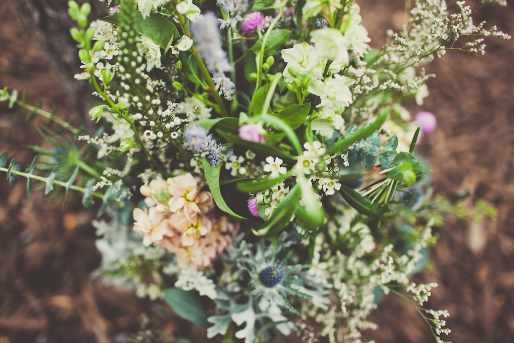 Sundance Resort Mountain Wedding wildflower inspired wedding bouquet utah florist calie rose