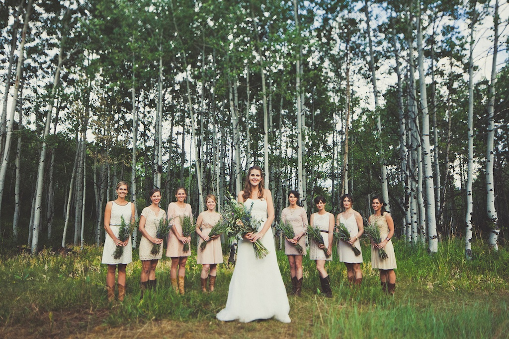 Destination Sundance Resort wildflower inspired mountain wedding utah florist calie rose sarah kathleen photography