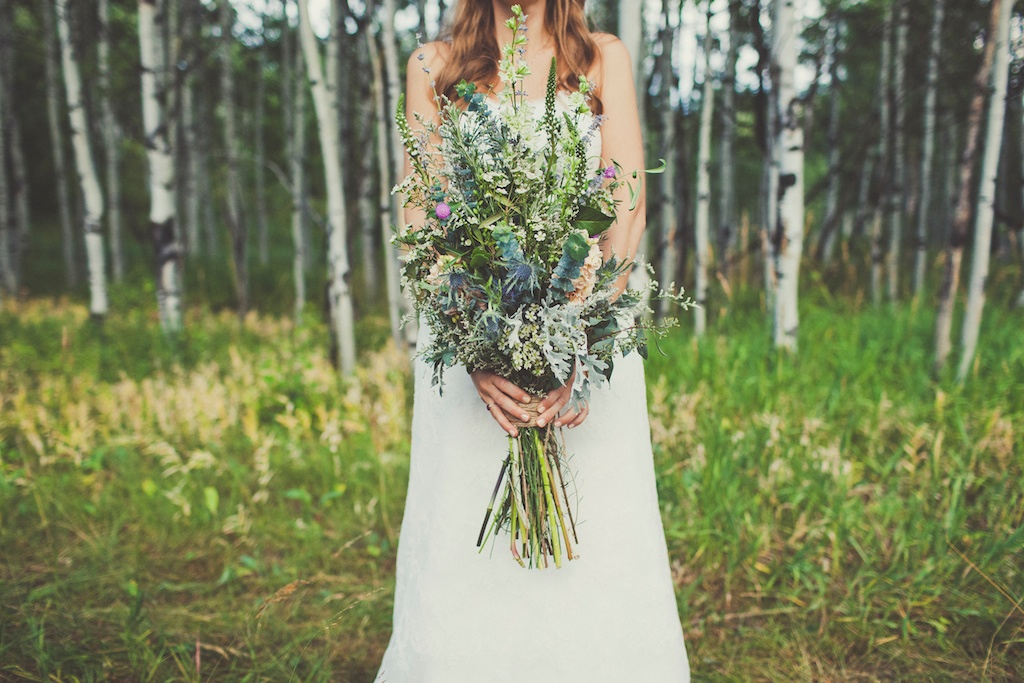 Sundance resort mountain wedding wildflower inspired wedding Sundance wedding utah florist calie rose Sarah Kathleen Photography
