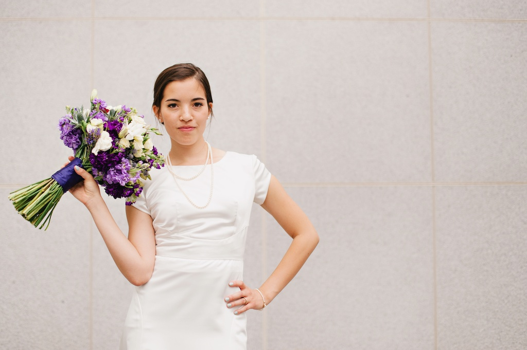 purple white wildflower inspired wedding bouquet utah florist calie rose mikki platt photography