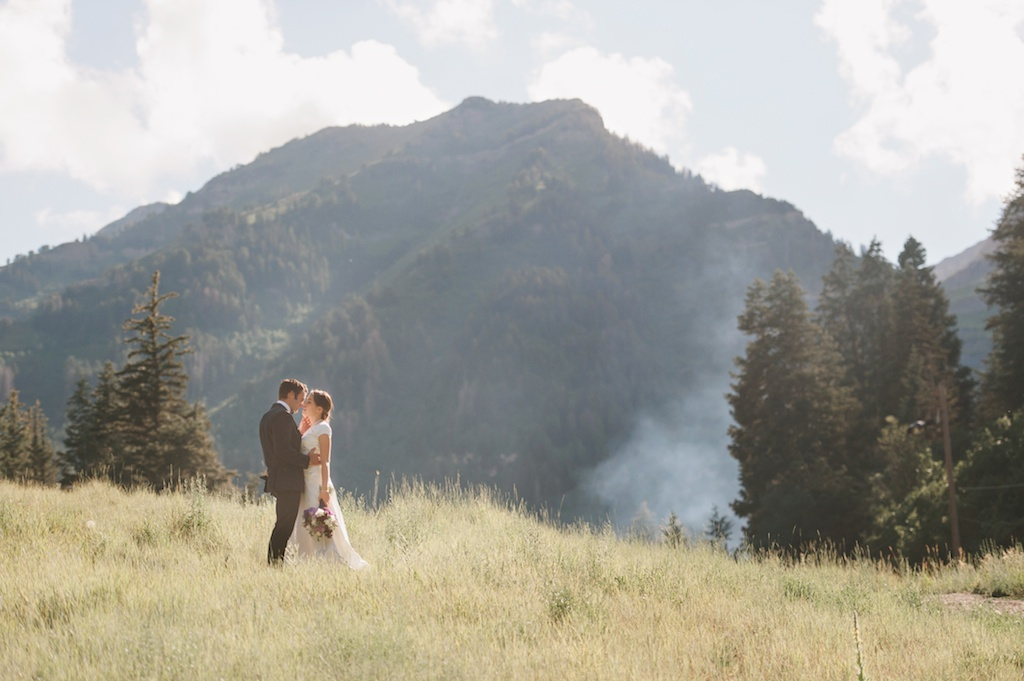 Sundance resort mountain wedding utah florist calie rose mikki platt photography