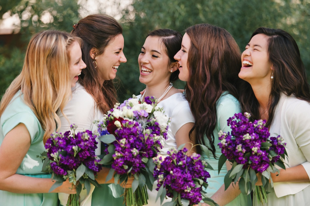 Sundance resort purple sea foam wildflower inspired wedding utah florist calie rose mikki platt photography