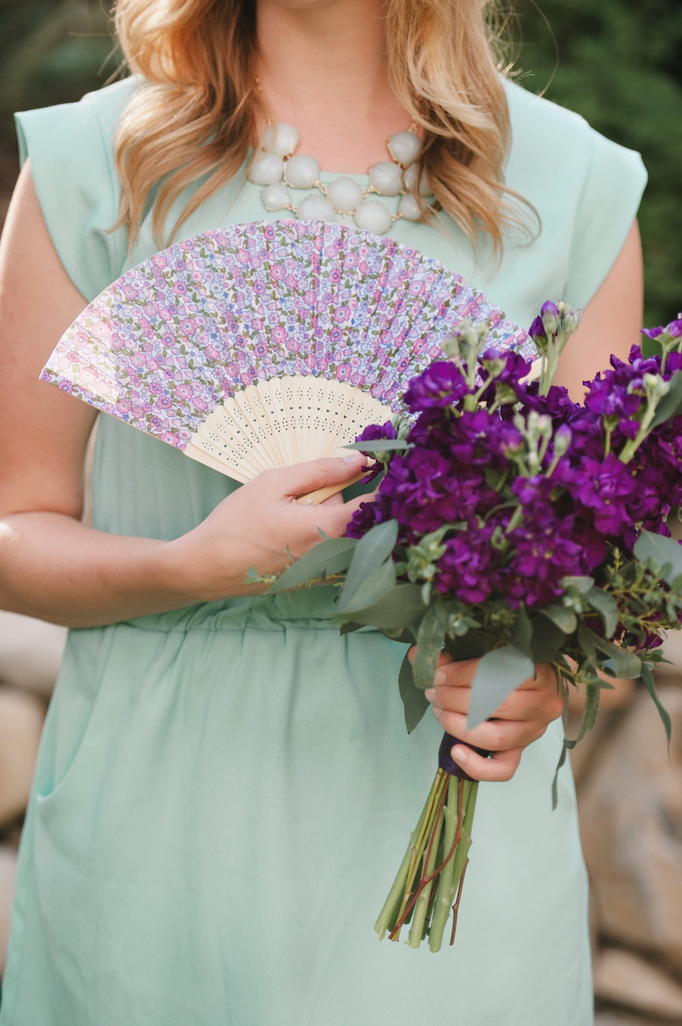 purple stock flower wedding bouquet Sundance resort sea foam purple wedding florist utah calie rose mikki platt photography