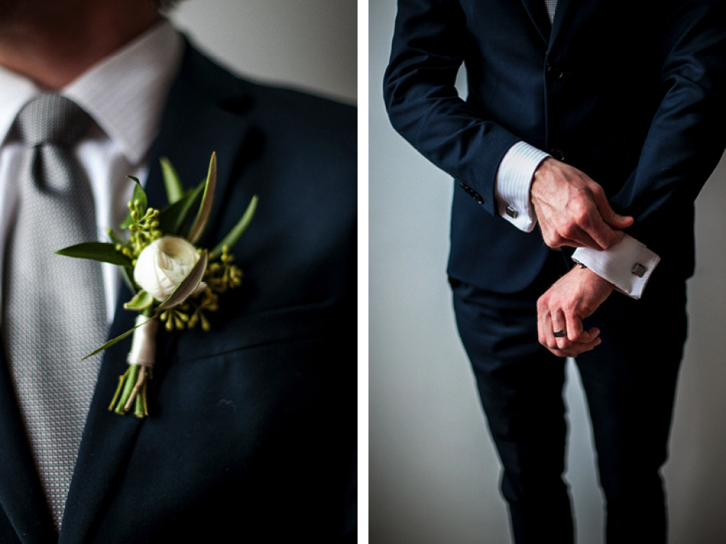 green white boutonniere white ranunculus boutonniere utah wedding florist calie rose mary claire photography