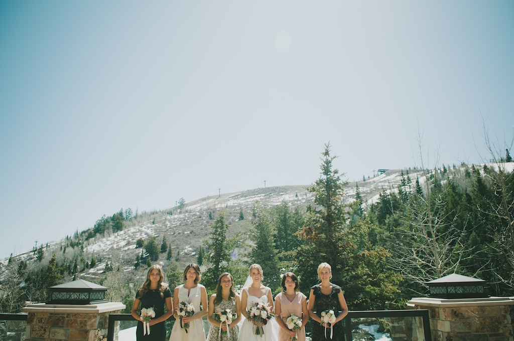 St. Regis Park City Mountain Wedding Utah Wedding Flowers Calie Rose