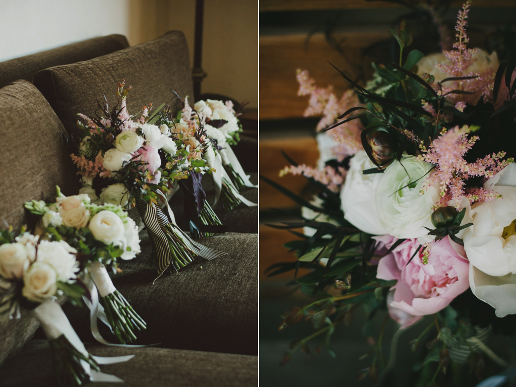 organic blush ivory peony wedding bouquets utah florist calie rose