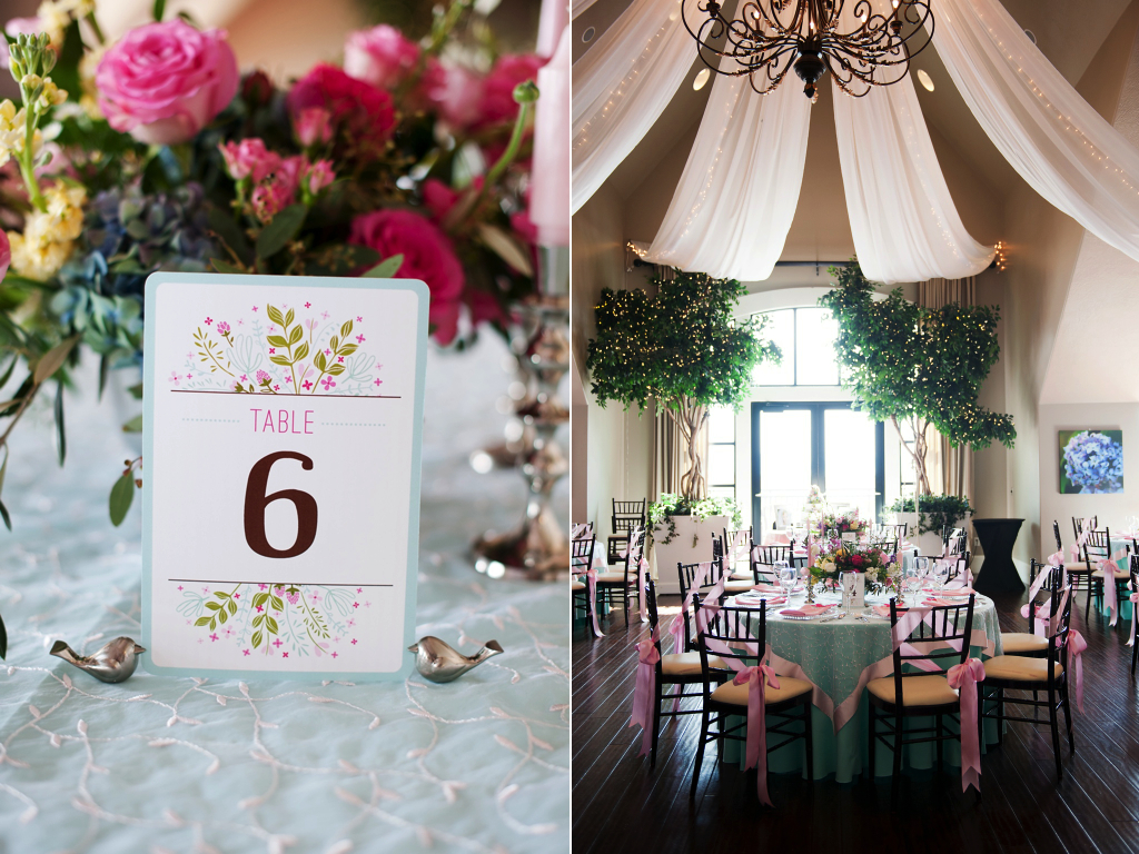 spring wedding flower centerpiece painted table numbers  wedding flowers utah calie rose sleepy ridge wedding