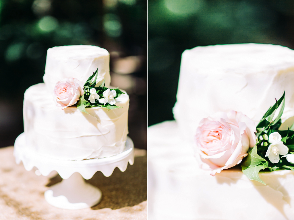 simple garden rose cake flowers utah wedding calie rose