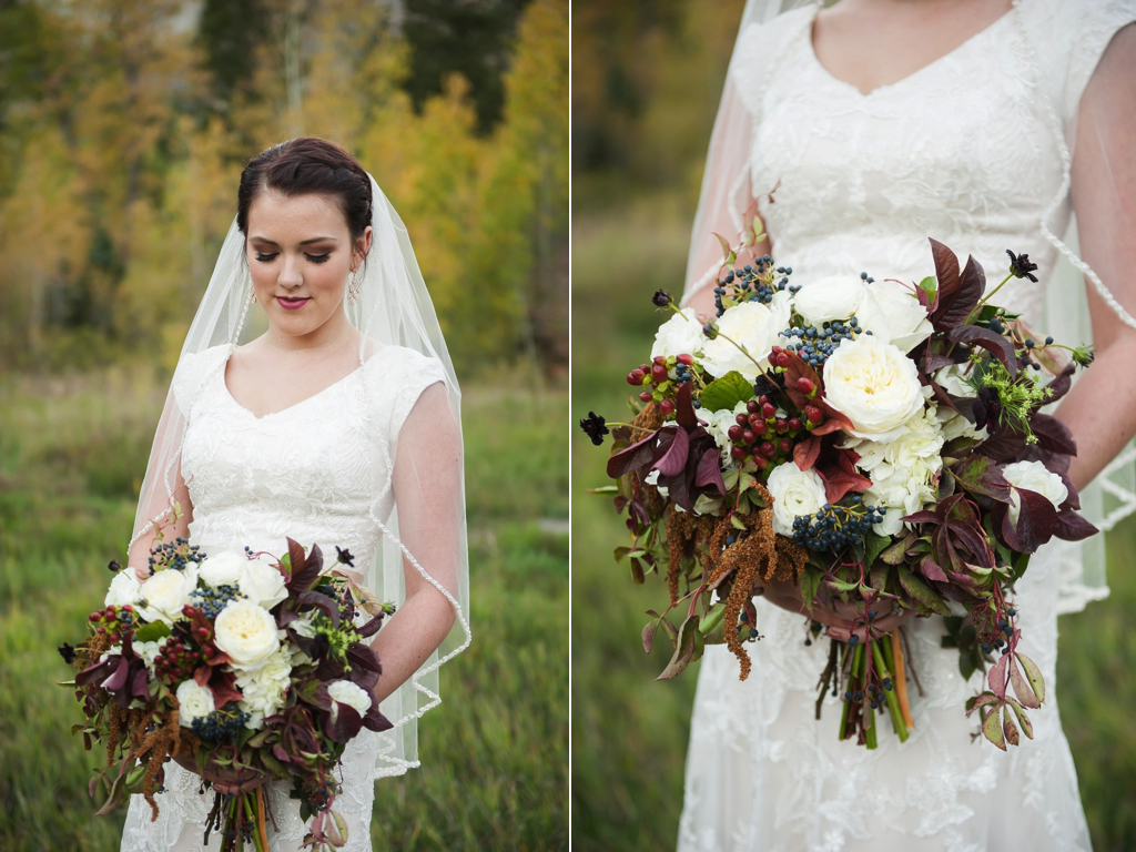 A Beautiful Fall Wedding Bouquet One Stunning Couple Calie Rose