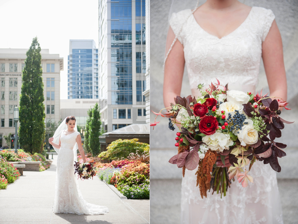 gorgeous fall wedding bouquets red ranunculus bouquet utah wedding flowers calie rose