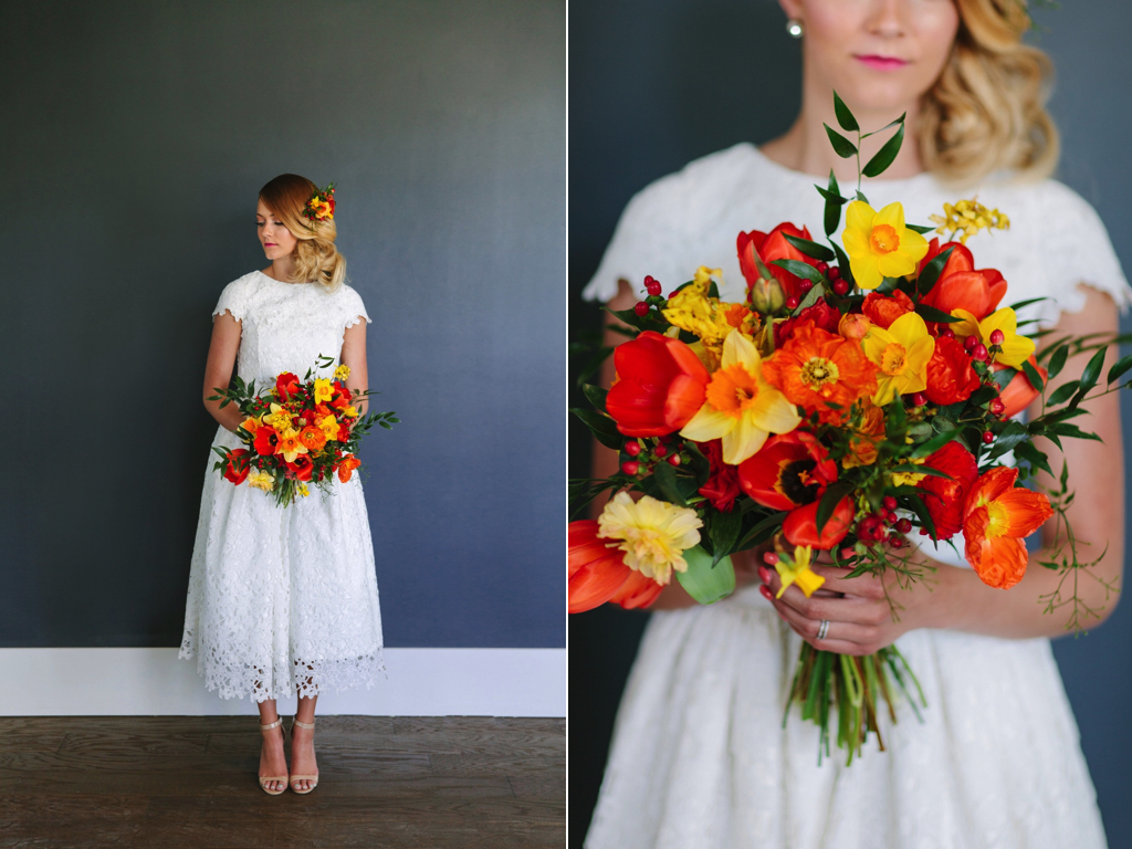 Moroccan bright citrus infused wedding flowers utah calie rose wedding flowers utah calie rose red orange yellow wedding flowers poppy daffodil wedding bouquet mightylinksfo