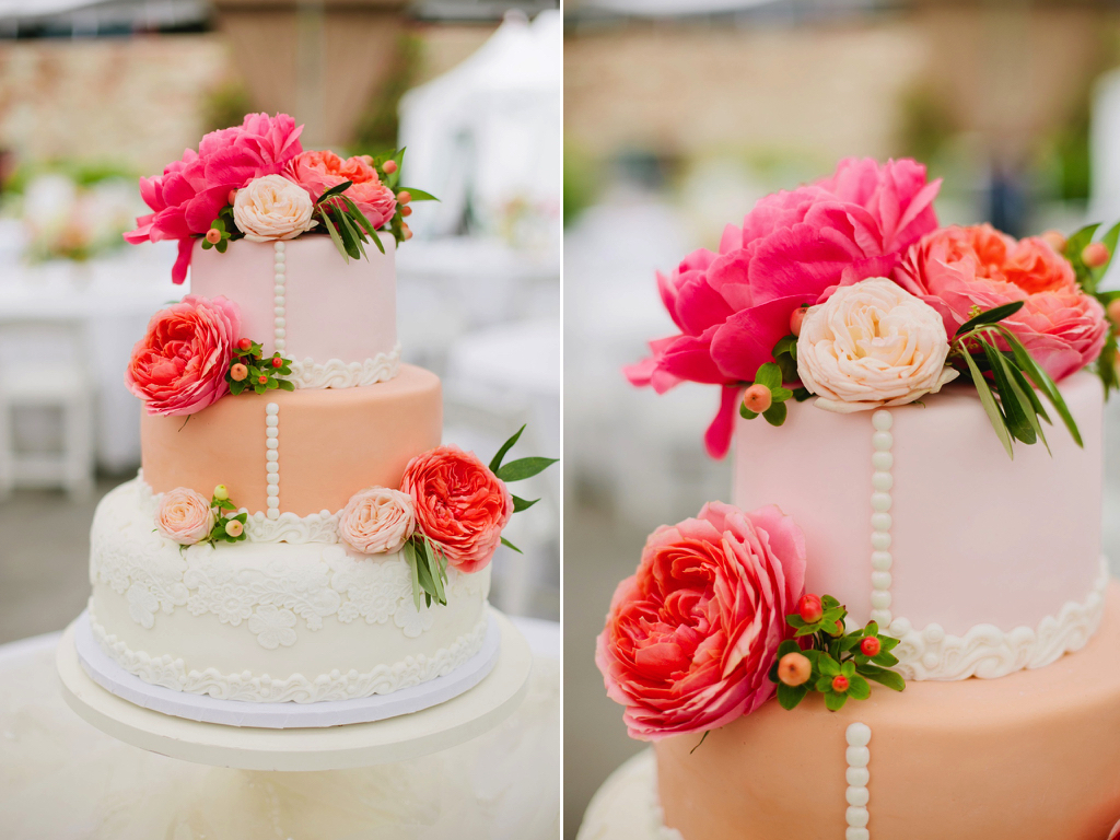 blush peach coral wedding cake flowers coral charm peony coral garden rose cake flowers utah calie rose