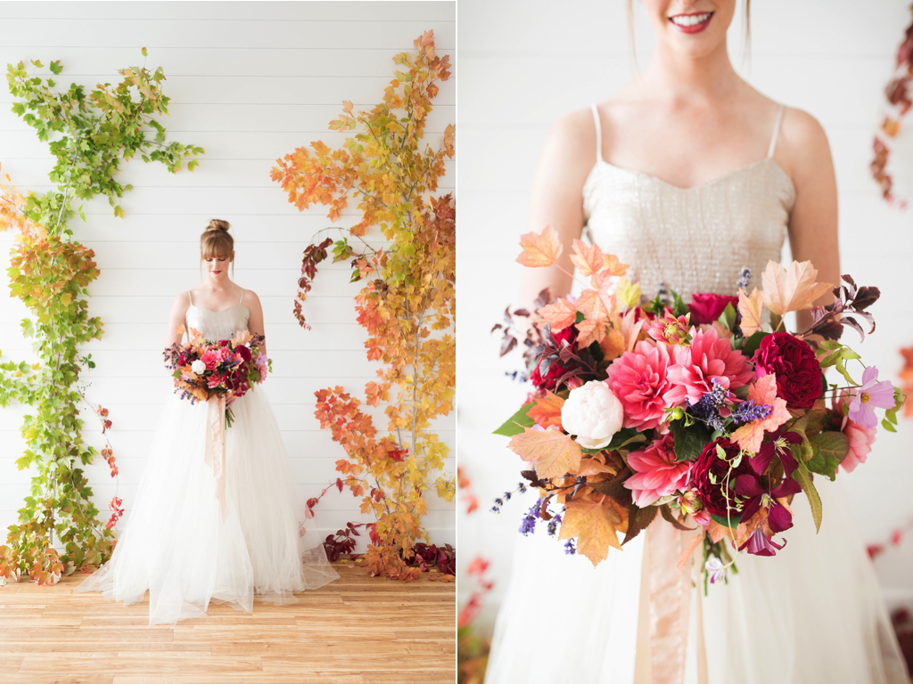 Stunning Fall Wedding Backdrops DIY | Calie Rose » CALIE ROSE