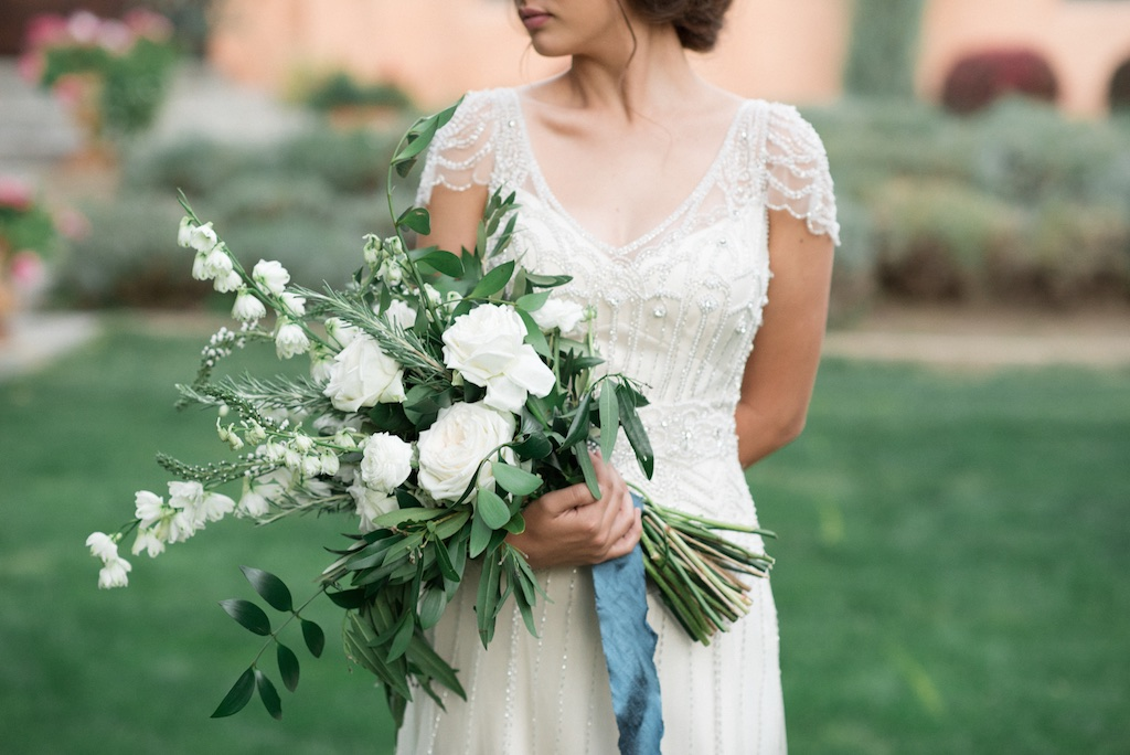 stunning utah weddings, vintage car wedding, white green wedding bouquets, white green blue wedding inspiration, tuscan wedding inspiration, cradle bouquet, elongated bouquet, tuscan wedding, italian wedding, italian wedding inspiration, wedding flowers utah calie rose