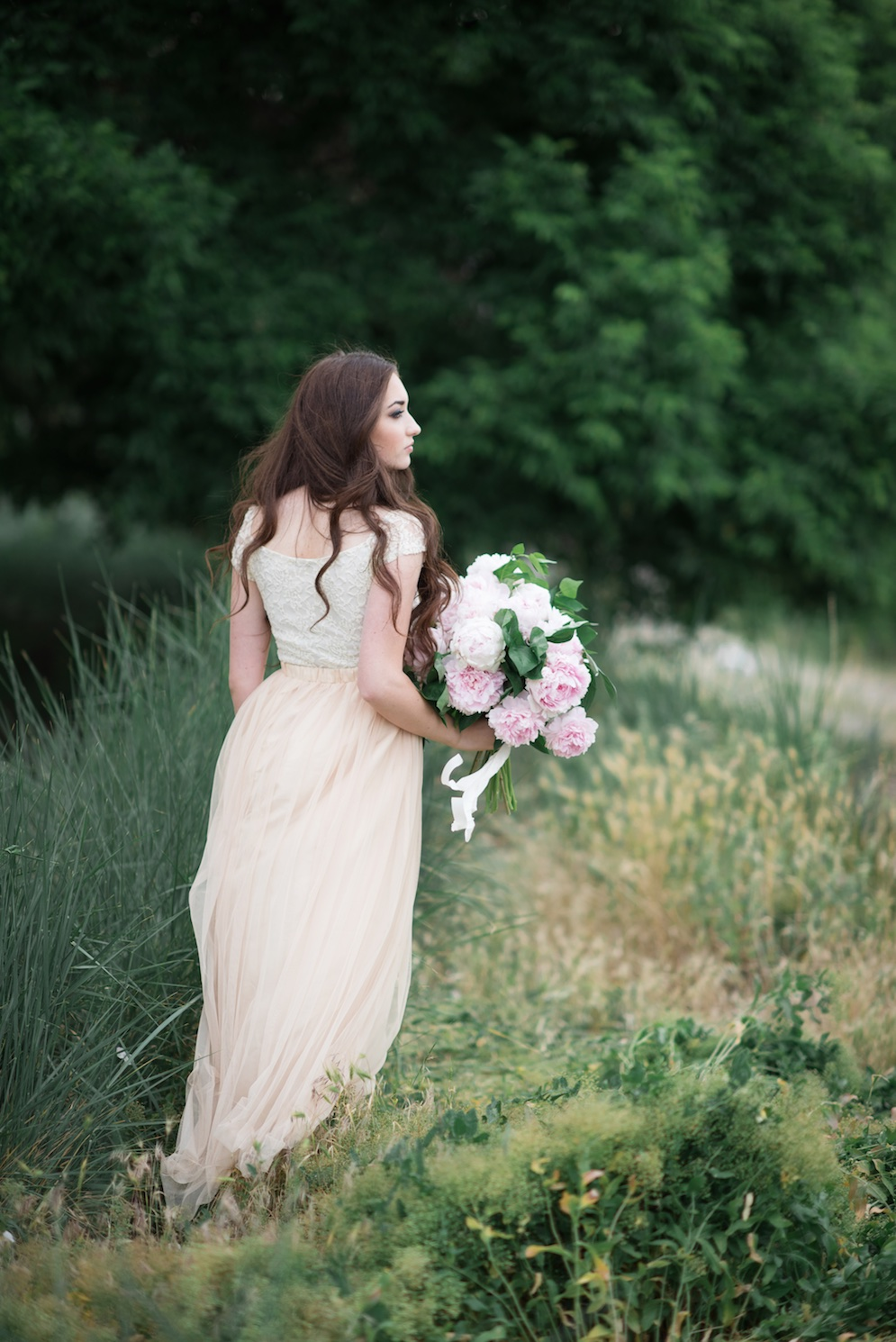 blush wedding flower ideas calie rose utah
