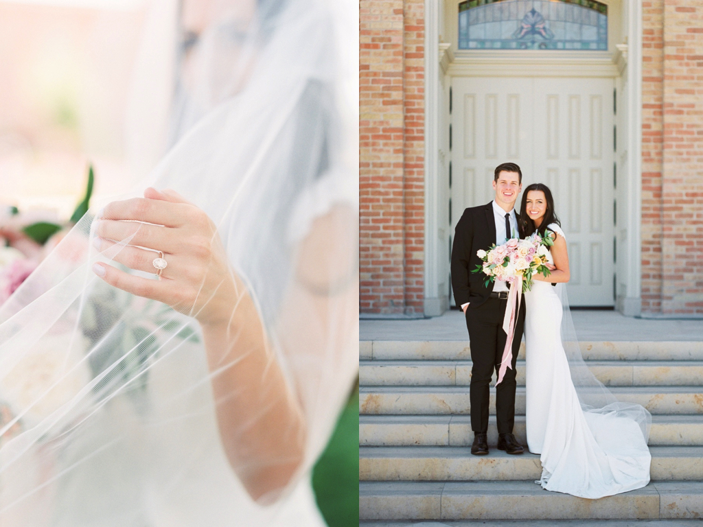 dreamy romantic provo city utah temple wedding flowers calie rose