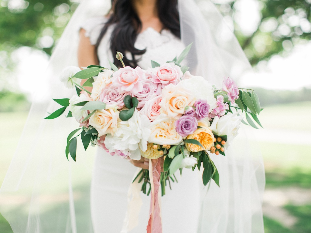 lavender peach mauve blush pink wedding flower inspiration utah florist calie rose