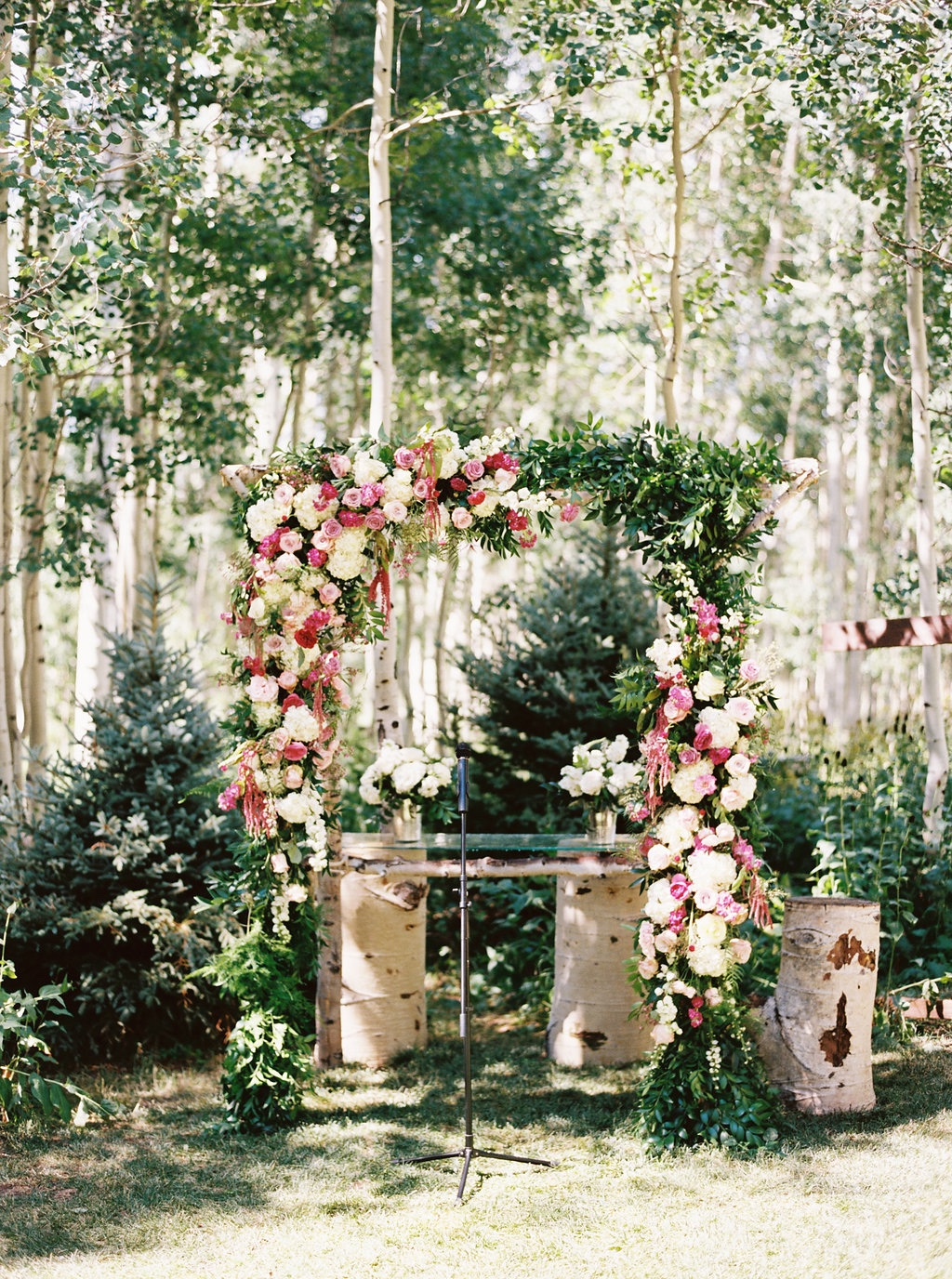 stunning ceremony arches, floral arch ideas, ceremony backdrop ideas
