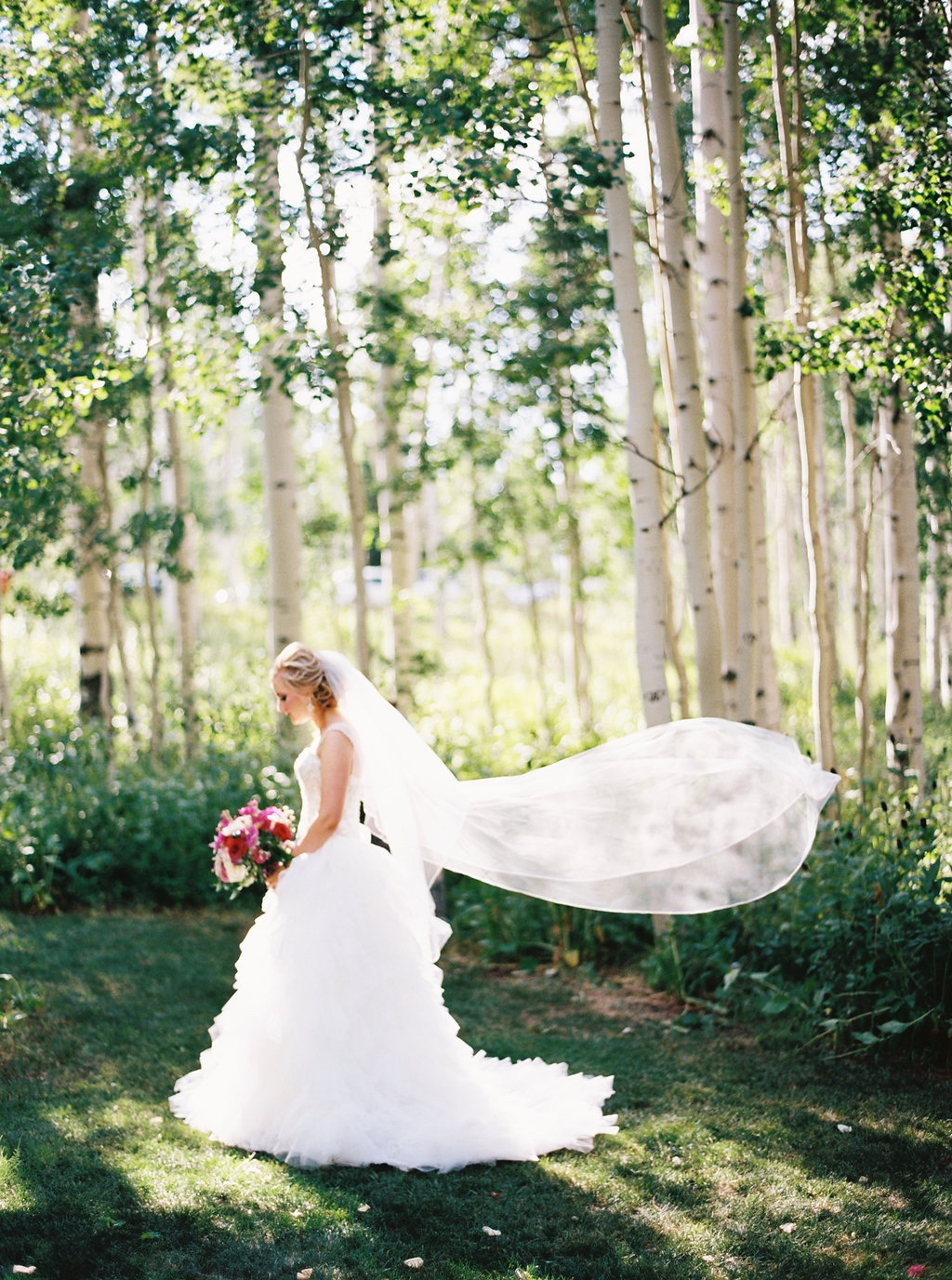 aspen meadows at wolf creek ranch destination park city utah wedding flowers calie rose