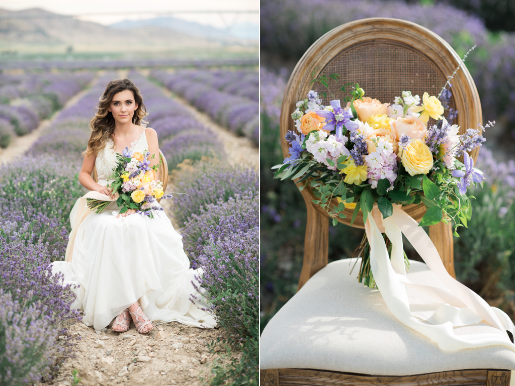 South of France Wedding, lavender field wedding, lavender wedding ideas, lavender inspired wedding, wedding flowers utah calie rose, stunning summer wedding bouquets