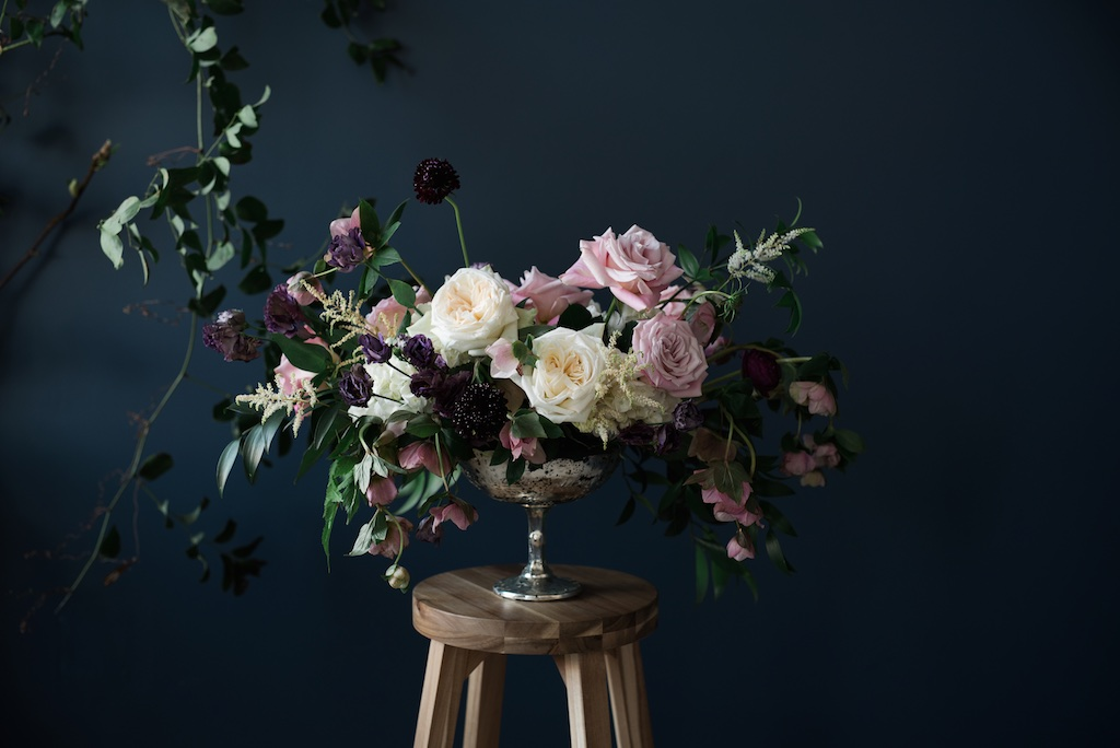 Moody Wedding Flowers Utah Calie Rose
