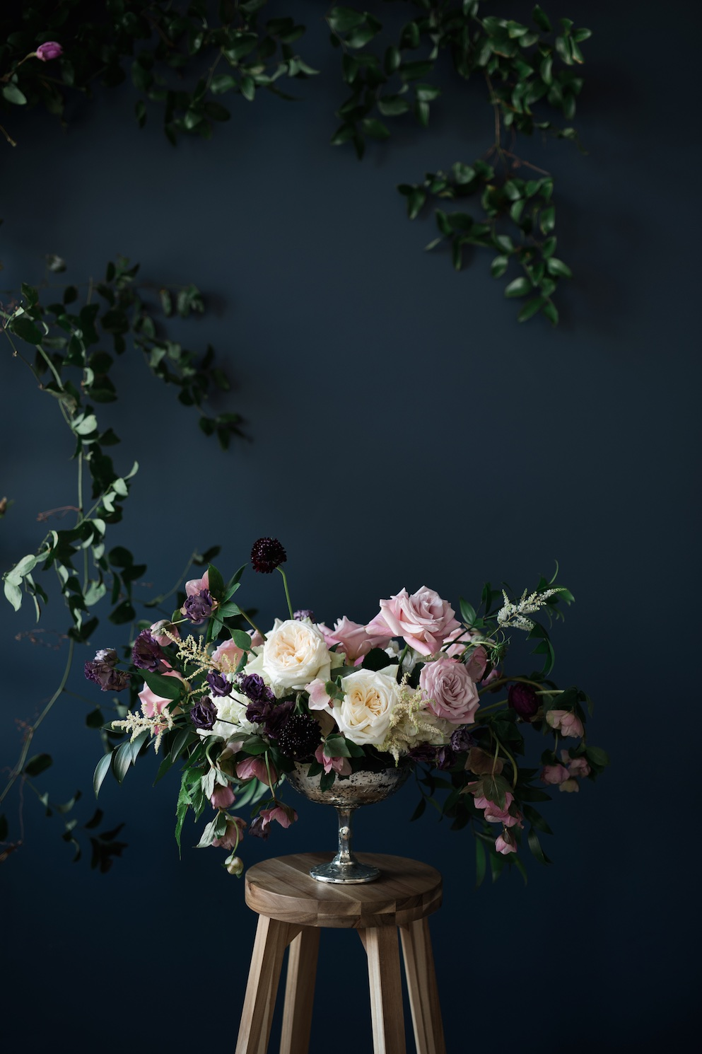 Moody wedding flowers ideas utah calie rose