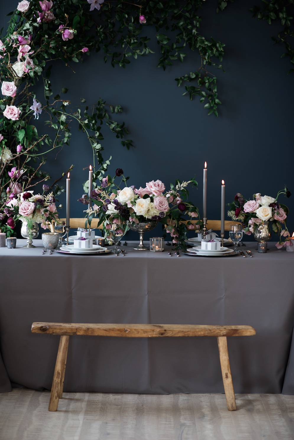 Gorgeous moody wedding flower inspiration ideas utah calie rose