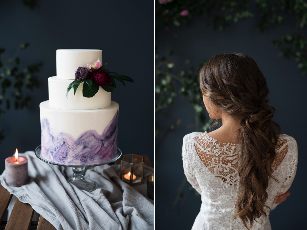 Moody Wedding Flower Inspiration Utah Calie Rose