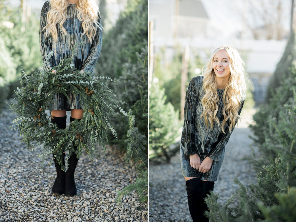 Christmas Tree Lot Shoot meaning of Christmas Wreaths Christmas Wreath Symbolism