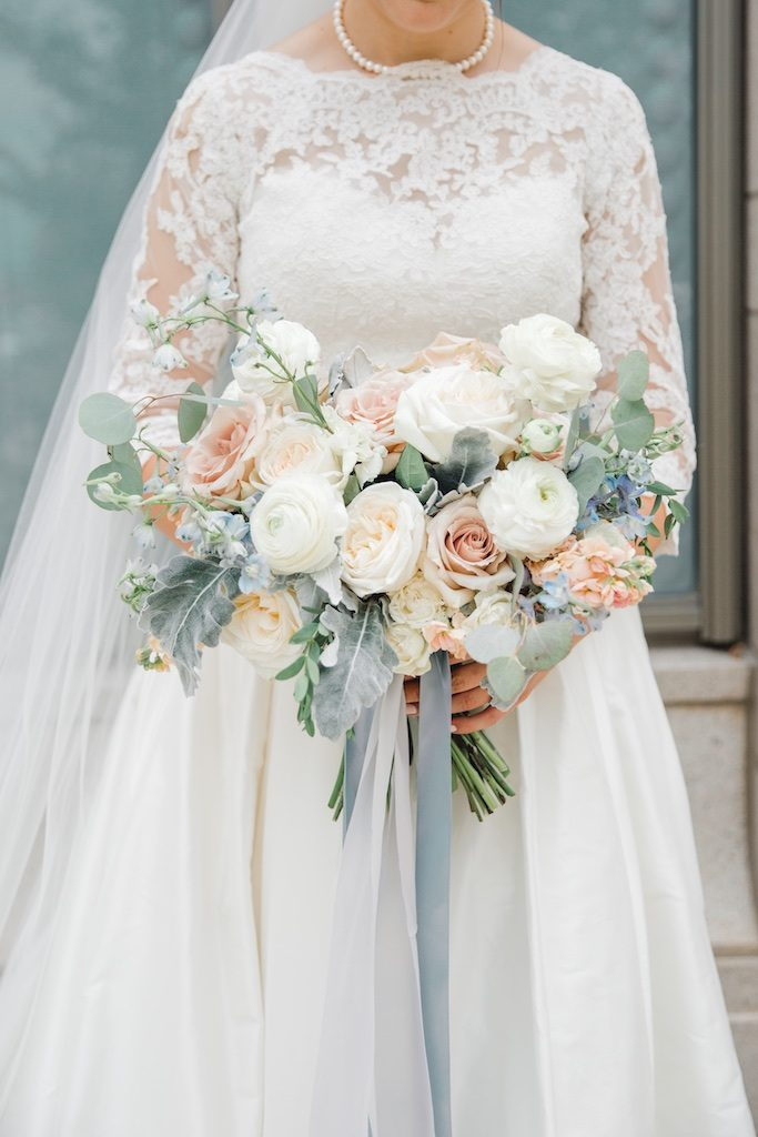 Top 3 Dusty Blue Wedding Flowers Dusty Blue Bridesmaid Dress